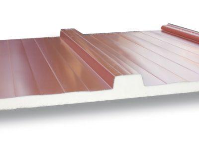 Panel cubierta imitacion madera